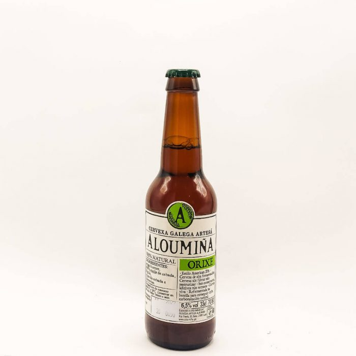 cerveza Aloumiña Orixe