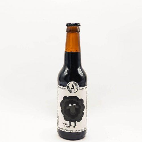 cerveza Aloumiña Ovella Negra