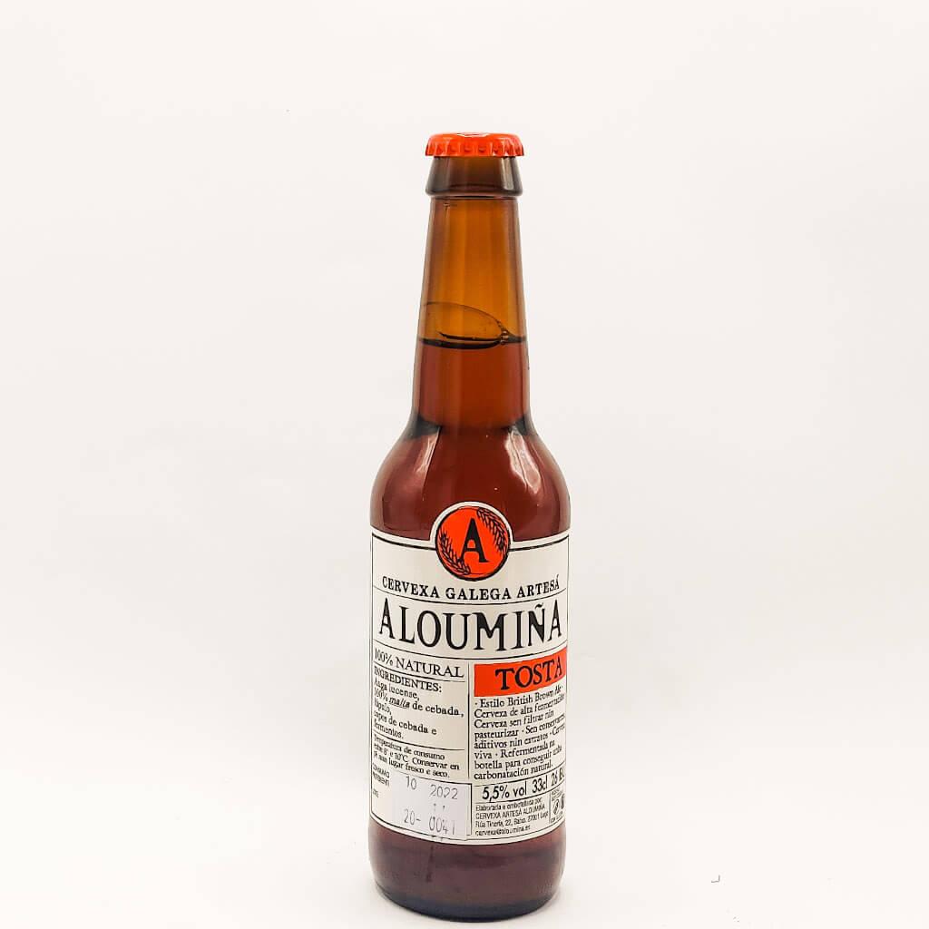 cerveza Aloumiña Tosta